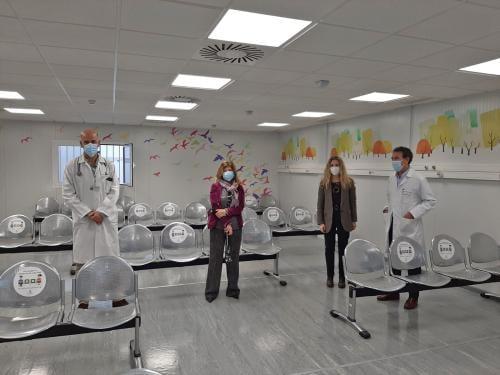 El Hospital de Jerez amplía Urgencias Materno Infantil con una inversión de más de 780.000 euros.