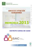 MEMORIA DAP SIERRA CADIZ 2011
