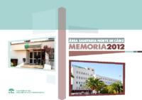 MEMORIA AGS Norte de Cadiz 2012